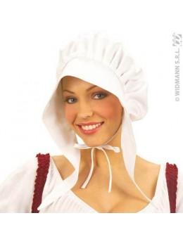 Coiffe lavandière blanche