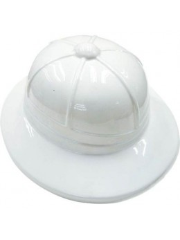 Chapeau explorateur plastique