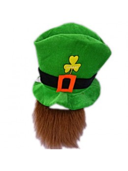 Chapeau Saint Patrick avec barbe