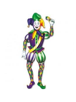 Déco Joker Mardi Gras