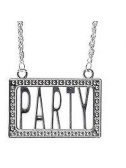 Collier Party Argent