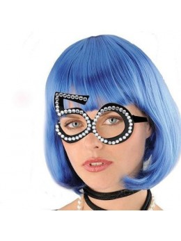 Lunettes strass 50 ans
