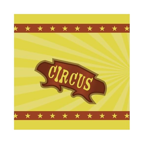 Chemin de table thème cirque