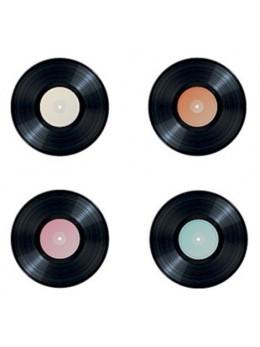 16 confetti de table disques vynil