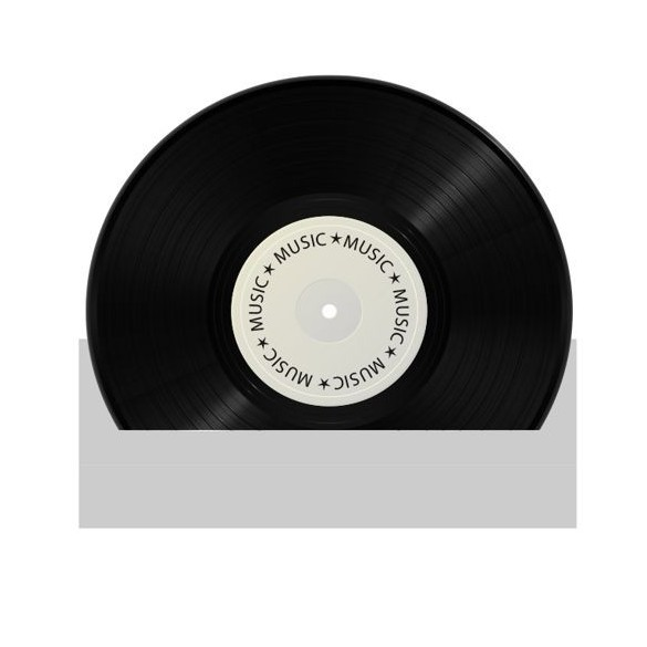 4 Marque place disques vynil