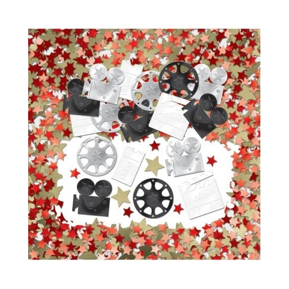 Confetti de table cinéma