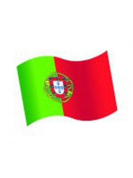 16 Confetti de table Drapeau Portugal