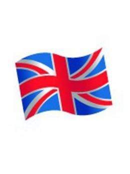 16 Confetti de table Drapeau Angleterre