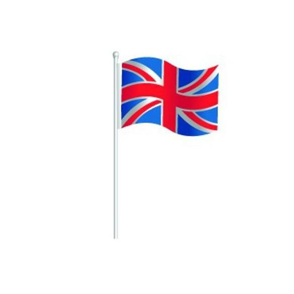 Centre de table drapeau Grande Bretagne