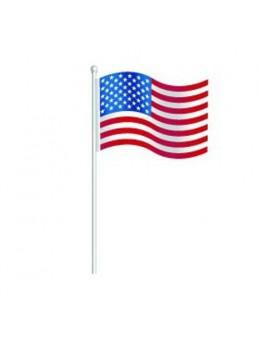 Centre de table drapeau USA
