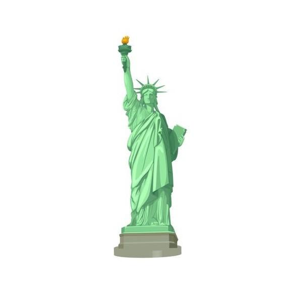 Centre de table Statue de la liberté