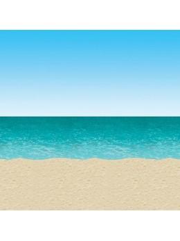 Rouleau déco plage ciel et océan