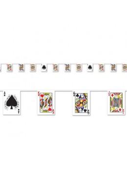 Guirlande Jeux de carte