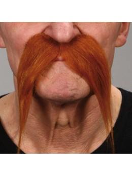 Moustache BD Deluxe rousse