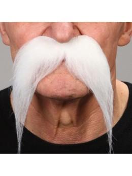 Moustache BD Deluxe blanche