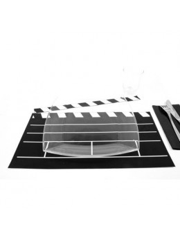 2 Sets de table Clap de film