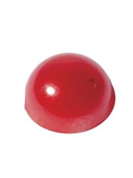 Perles adhésives Rouge 4mm