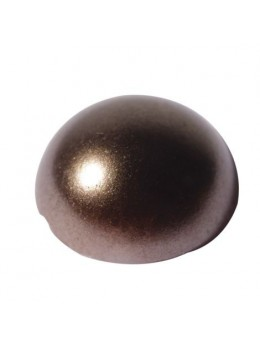 Perles Adhésives Chocolat 4mm