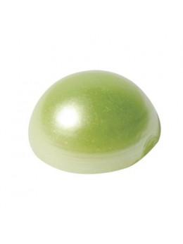 Perles Adhésives vert lime 4mm