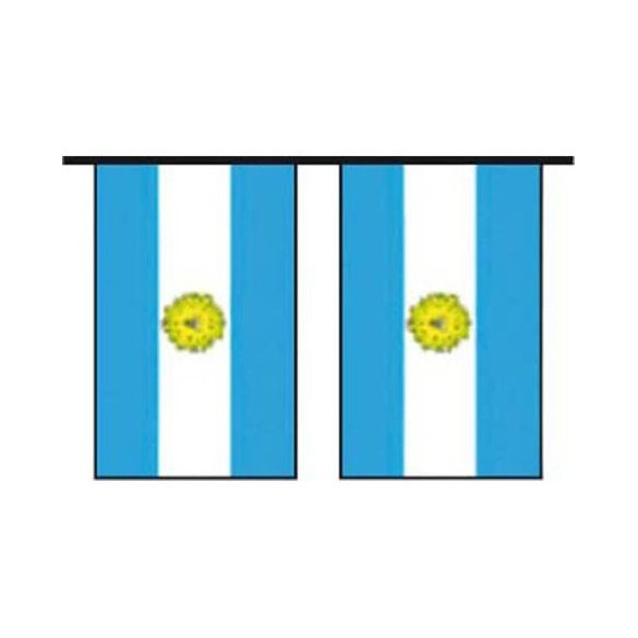 Guirlande pavillon argentine