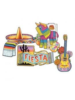 Lot de 4 cutouts Fiesta