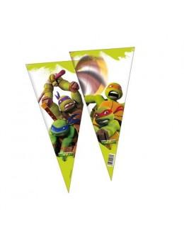 10 sacs de fête Tortues Ninja