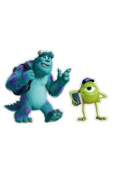 2 décos Monsters University