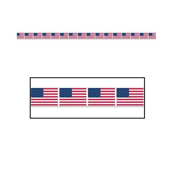 Banderolle Plastique USA