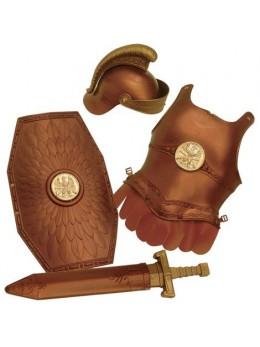 Kit déguisement enfant Armure romaine 4 pièces