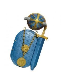Kit déguisement enfant Viking 4 pièces
