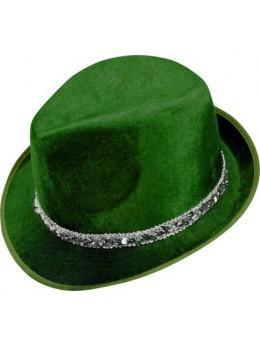 Borsalino velours vert