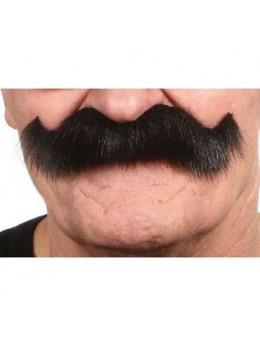 Moustache western noire