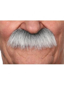Moustache Luxe Papy grise