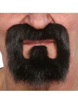 Moustache luxe Bandit noire