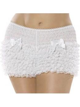 Culotte Panty dentelle blanche