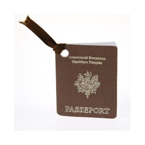10 Etiquettes Passeport