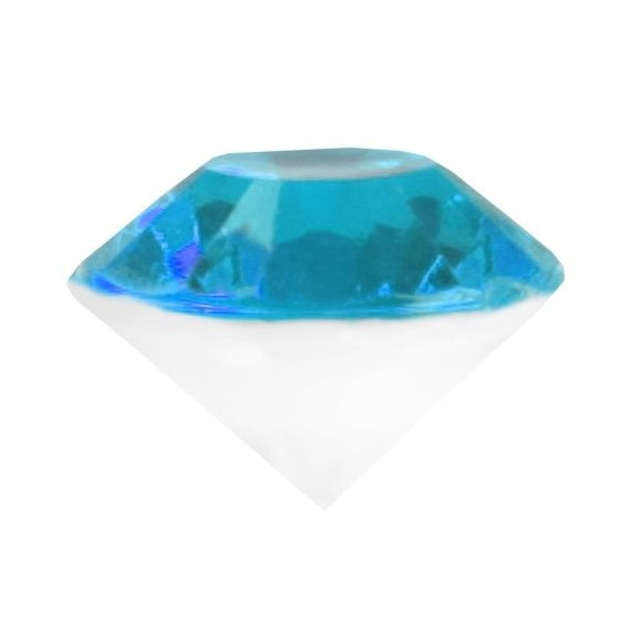 Diamant 3D turquoise