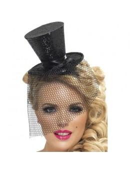 Mini Chapeau Haut de Forme Noir