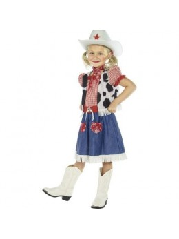Déguisement fille cowgirl