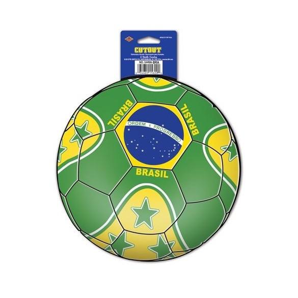 Déco ballon de foot brésil
