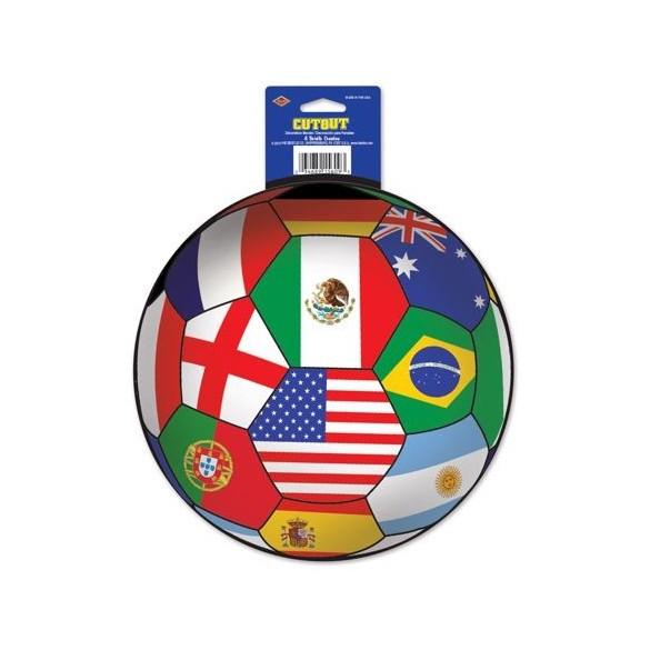 Déco ballon de foot Coupe du monde