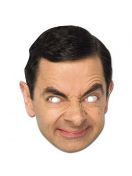 Masque carton Mister Bean