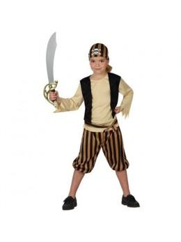 Déguisement pirate marron enfant