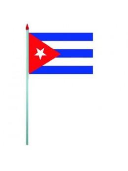 10 Drapeaux de table Cuba
