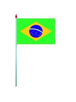 10 Drapeaux de table Brésil