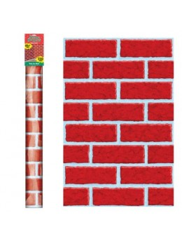 Rouleau décor mur de brique