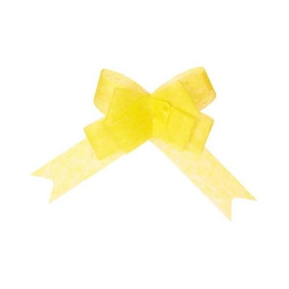 5 Noeuds automatiques non tissé jaune