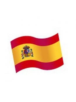 16 Confetti de table Drapeau Espagne