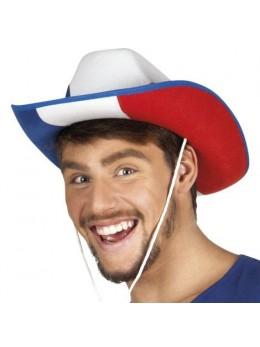 Chapeau de cowboy tricolore