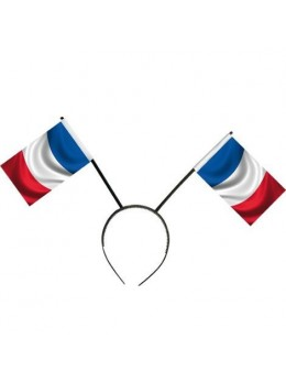 Serre tête drapeaux français
